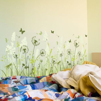 Removable Dandelion Wall Decal Wall Sticker