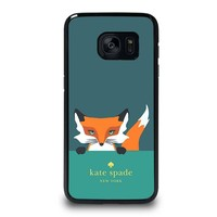 KATE SPADE NOVELTY FOX Samsung Galaxy S7 Edge Case Cover