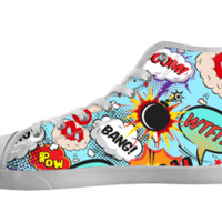 Comic Quotes Shoes