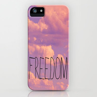 Freedom  iPhone Case by Rachel Burbee | Society6