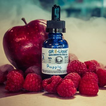 """Rapple"" Raspberry/Apple Premium E-Liquid"
