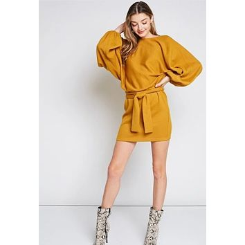 Laiken knit sweater dress