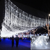 50M 300 LED White Decorative Wedding Fairy Christmas Party Twinkle String Lights EU CFC = 1932340228