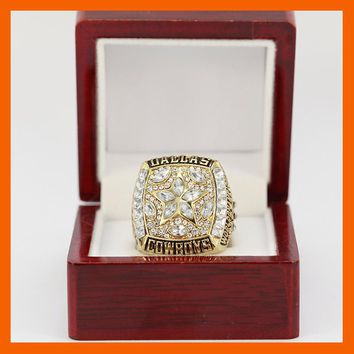 NEW 1995 DALLAS COWBOYS SUPER BOWL XXVII WORLD CHAMPIONSHIP RING