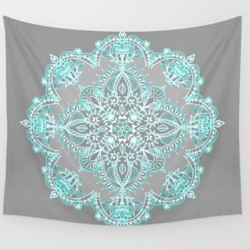Mandala Tapestry Indian Floral Wall Tapestry Bedding Sheet Boho Beach Wedding Table Decorations Home Decor 205x153cm Yoga Mat
