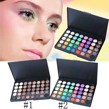 Fashion Pearl Shimmer Studio Special Eye Shadow Compact Palettes for Women Girls Makeup Tools [8833593164]