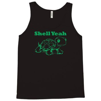 shell yeah turtle Tank Top