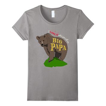 Papa Bear Father's Day T-Shirt Funny Dad Joke Tee