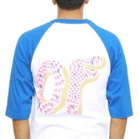 Odd Future, Optical Donut Raglan - Tops - MOOSE Limited