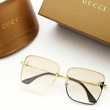 GUCCI New Fashion Polarized More Color Glasses Travel Leisure Eyeglasses Sunscreen Women