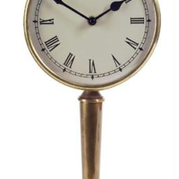 Pedestal Clock - Old World