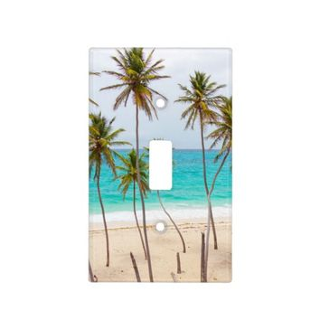Tropical Beach Light Switch Plate