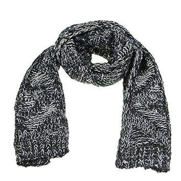 Kids Winter Warm Knitted Long Scarves Fashion