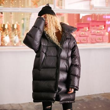 Winter Jacket Women Women's Down Jacket Coat Waterproof Warm Thicken Long Duck Down Female Parkas Brand Winter Coat Women