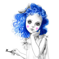 Coraline art print - limited edition