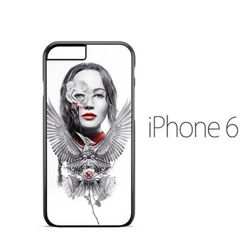 Hunger Games Mockingjay White iPhone 6 Case