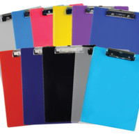 Saunders Recycled Plastic Clipboard – Letter/A4 Size – Low Profile Clip