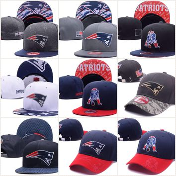New England Patriots New Era 9Fifty 9Forty Snapback & 'Dad' Hats