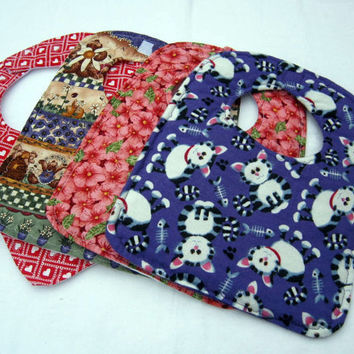 Build your own Custom Order of Four Baby Bibs by sewinggranny