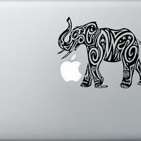 Trible asian elephant laptop macbook laptop car window decal