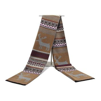 Luxury brand scarf men Embroidery scarf bandana pashmina shawls, pashmina cashmere winter men cape shawls and scarves for male