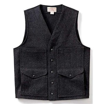 DCCKJG9 Filson Wool Cruiser Vest - Men's