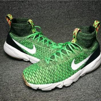 """Nike Air Footscape Magista Flyknit """"Gorge Green"""" 816560-300 Green"""