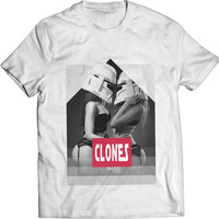 CLONES STARWARS Stormtrooper DarthVader Mens T-shirt New Print Sexy Girls Perfect Gift Garment Apparel T Shirt