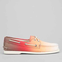 Sperry Top-Sider Authentic Original 2-Eye Ombre Boat Shoe- Orange 9