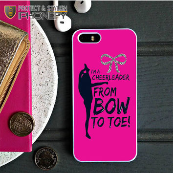 Bow To Toe Cheer iPhone 5C Case|iPhonefy