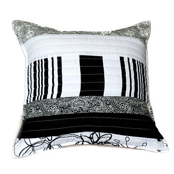 Tache 2 Pieces 100% Cotton New York Penthouse Cushion Cover (CCNY-DXJ107075)