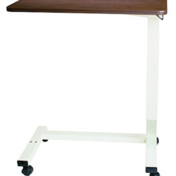 Non-Tilt Automatic Overbed Table with Extra Large Table Top