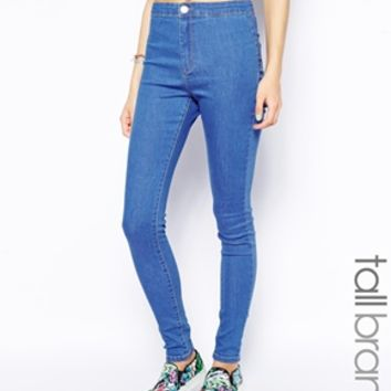 Glamorous Tall True Blue Jeggings