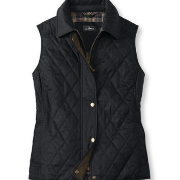 Quilted Riding Vest: Vests | Free Shipping at L.L.Bean