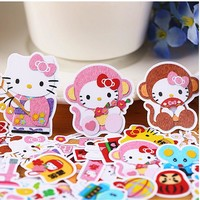 29pcs Creative kawaii self-made hello kitty Stickers/beautiful stickers /decorative sticker /DIY craft photo albums