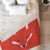 Robert Farkas Foxy shape Fleece Throw Blanket