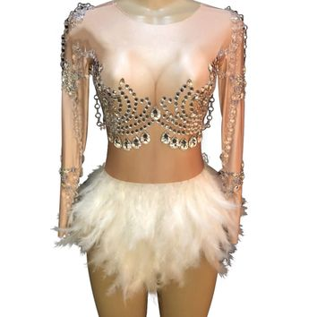 """Angel wings"" performance dance costume salsa bachata drag queen"