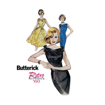 Butterick 6582 Sizes 18 20 22, Misses' Dress & Belt, Misses Sewing Pattern, New, Uncut, Factory Folds