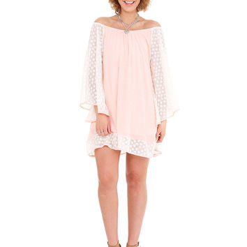 2 Tee Couture Jade Dress in Blush