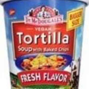 Dr. McDougall's Tortilla Big Soup Cup (6x2 Oz)
