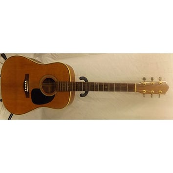 In Store Vintage Vintage 1970s LoPrinzi LM15 Natural Acoustic Guitar