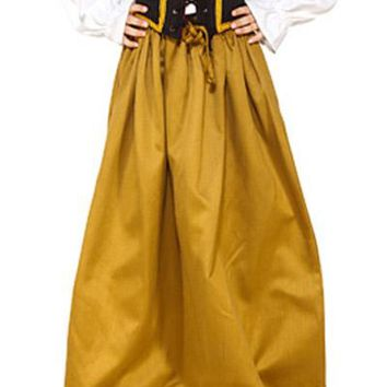Medieval Victorian Steampunk Multiple colors Girls Childrens Skirt
