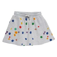 Stella McCartney Kids 'Crystal' Paint Splatter Organic Cotton Jersey Skirt (Toddler Girls, Little Girls & Big Girls) | Nordstrom