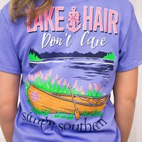 Lake Hair Don't Care | Simply Southern