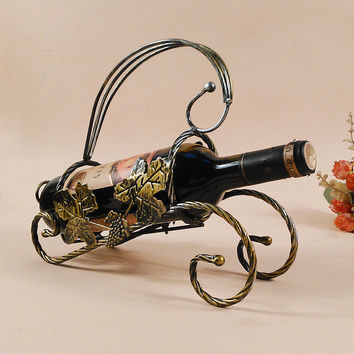 Bottle wine rack.Suit for home and office.Put the wine in right place = 4492870596