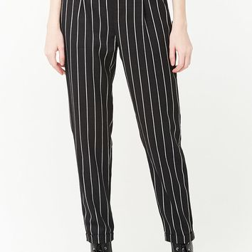 Stripe High-Rise Pants