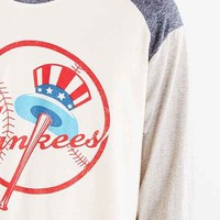 New York Yankees Triad Raglan Tee