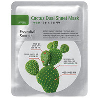 Apieu Cactus Dual Sheet Mask - Masks/Packs