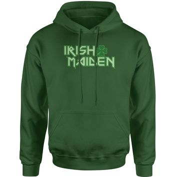 Irish Maiden ShamRocker Adult Hoodie Sweatshirt