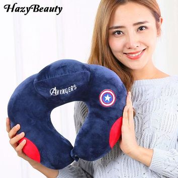New U Shaped neck travel pillow For Support Head Rest Cushion